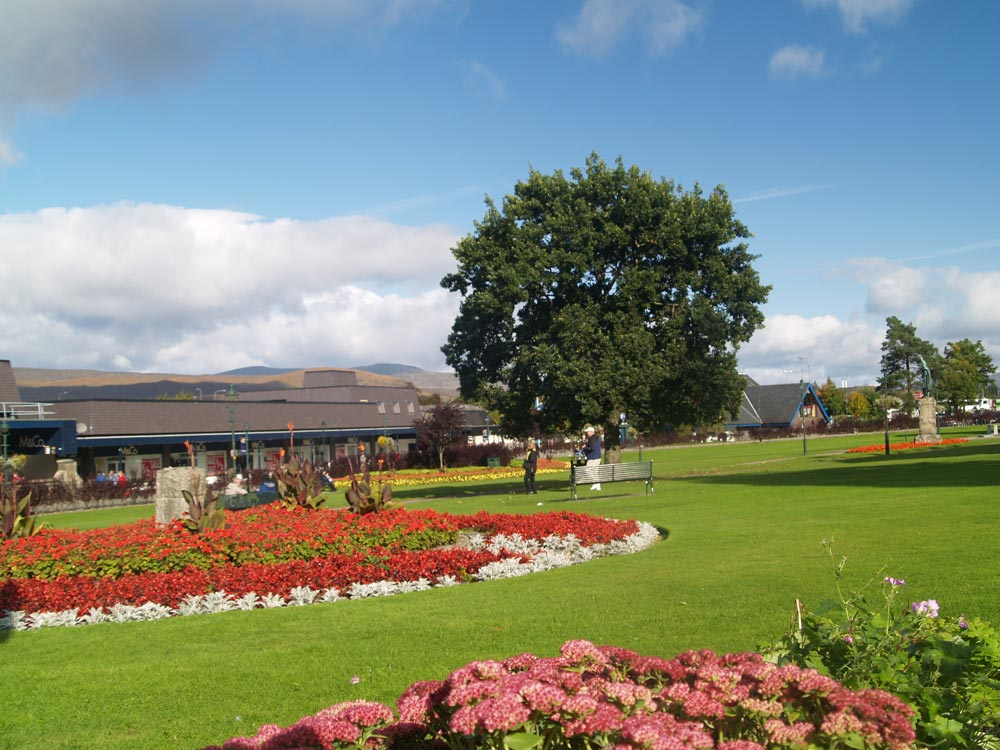 Gardens in Fort William