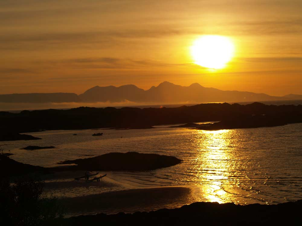 Sunset on Skye
