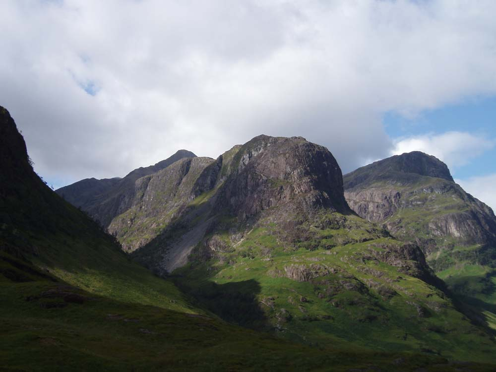 Three Sisiters of Glencoe